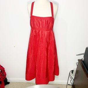 J CREW silk taffeta doll dress